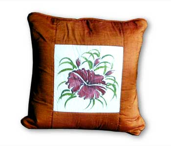 Cushion Tenun & Painting
