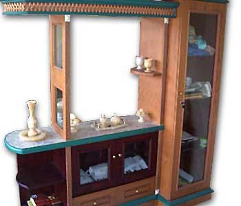 Graha interior mini bar for Mini bar inside house