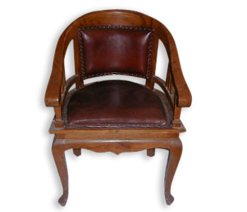 Leather Ruji Chair