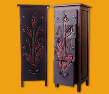 Lily Cabinet 4 Drawer